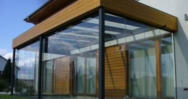 Terrassenverglasung